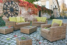 Rattanset Lounge Koobo-Grey